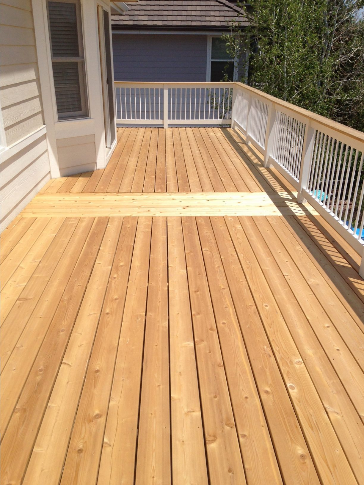 Deck Refinishing, Rebuilding, New