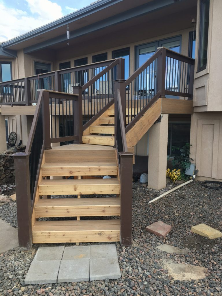 Timbertech Decking With Radiance Railing Deck Tune Up